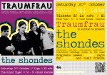 Flyer 8 - Shondes in October 2012