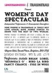 Flyer for International Womens Day 2014